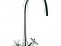 (HS975) Classic Twin Lever Kitchen Tap